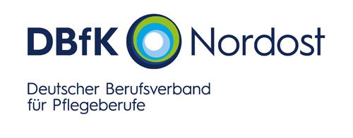Logo des DBfK, Deutscher Berufsverband für Pflegeberufe